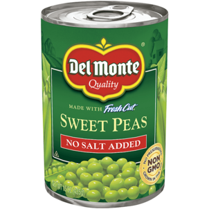 Del Monte Fresh Cut Peas, Sweet, No Salt Added 15.25 OZ