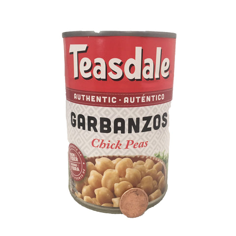 Teasdale Garbanzos/ Chick Peas 15 OZ
