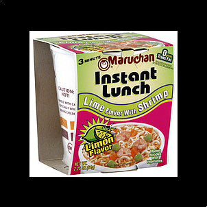 Maruchan Instant Lunch Lime Flavor with Shrimp, 2.25 oz 2.25 OZ