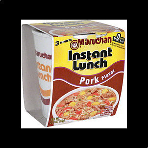 Maruchan Instant Lunch Pork Flavor, 2.25 oz 2.2 OZ