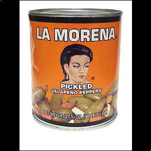 La Morena Whole Jalapenos Peppers - 27 oz