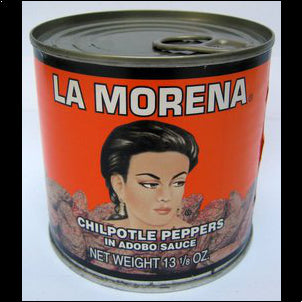 La Morena Chipotle Peppers in Adobo Sauce - 13 oz