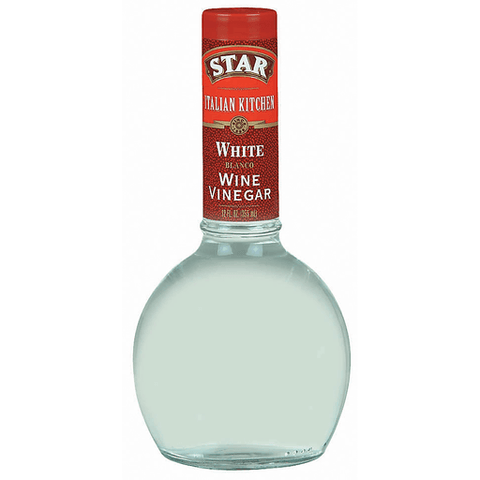Star Italian Kitchen Wine Vinegar, White 12 OZ