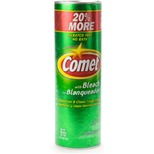 Comet Cleaner, with Bleach