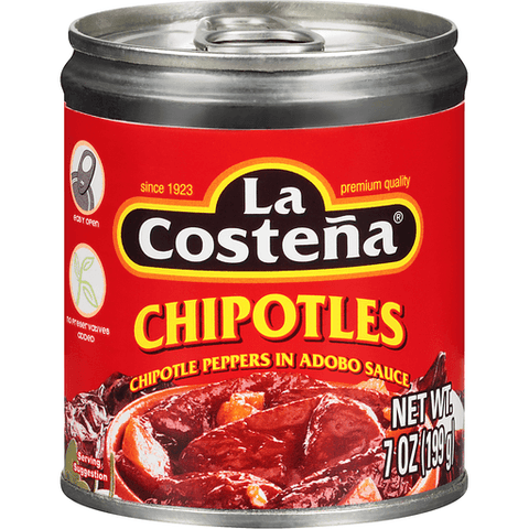 La Costena Chipotle Peppers, in Adobo Sauce 220 GR