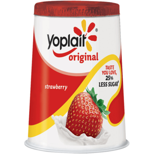Yoplait Original 99% Fat Free Strawberry Yogurt