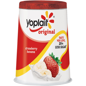 Yoplait Low Fat Strawberry Banana Yogurt