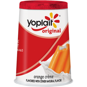 Yoplait Original Low Fat Orange Creme Yogurt