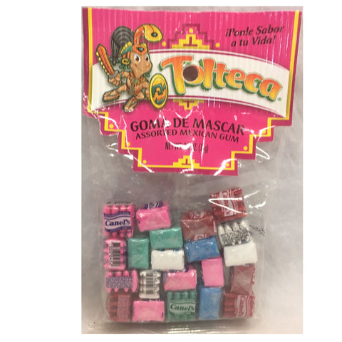Tolteca Goma de Mascar / Assorted Mexican Gum 2.5 OZ