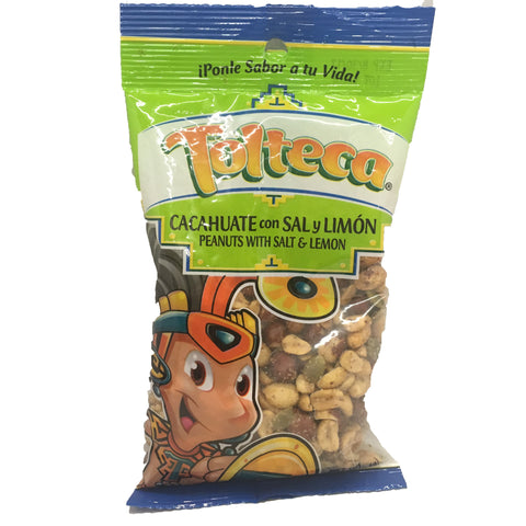 Tolteca Cacahuate con Sal y Limon / Peanuts with Salt & Lemon 7.1 OZ
