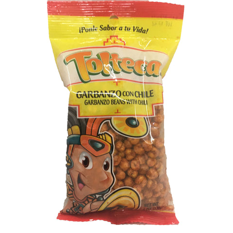 Tolteca Garbanzo con Chili 6.6 OZ