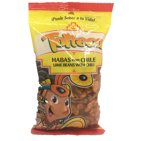 Tolteca Habas con Chile / Lime Beans with Chili 6 OZ