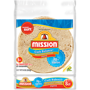 Mission Whole Wheat Fajita Tortilla