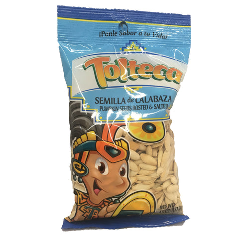 Tolteca Semilla de Calabaza / Pumpkin Seeds roasted & salted 5.5 OZ