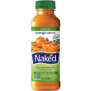 Naked Orange Carrot Juice Smoothie