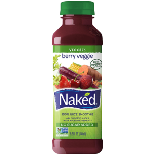 Naked 100% Juice Smoothie, Berry Veggie