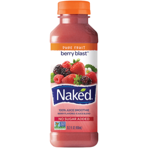 Naked 100% Juice Smoothie Berry Blast
