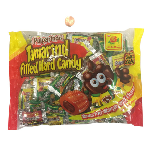 de la Rosa Pulparindo Tamarind Filled Hard Candy 68 CT
