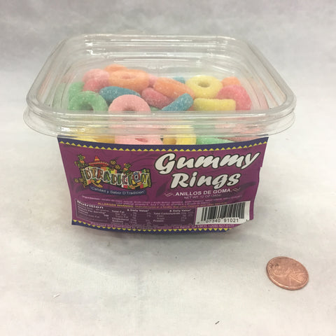 D'Tradicion Gummy Rings 12 OZ