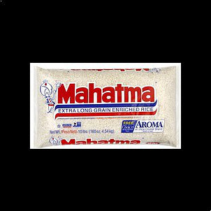Mahatma Rice Enriched, Extra Long Grain 10 LB