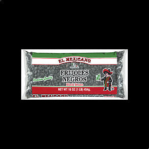 El Mexicano Black Beans 16 OZ
