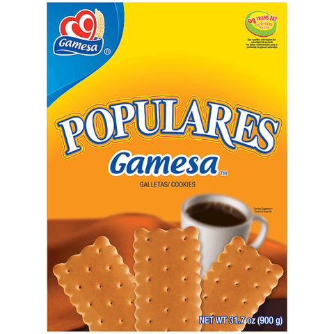 Gamesa Cookies, Populares 31.7 OZ