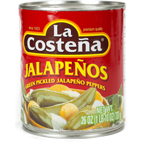 La Costena Jalapeno Peppers, Green Pickled 26 OZ,CAN