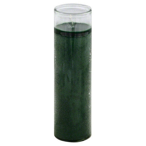 Reed Candle Co Candle Green Wax Clear Glass 1 EA