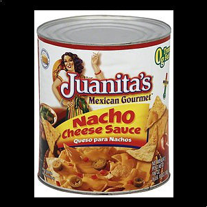 Juanitas Cheese Sauce Nacho, Medium, 106.0 oz 106 OZ