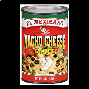 El Mexicano Sauce Nacho Cheese, 15.0 15 OZ