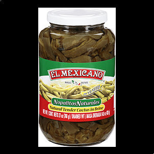 El Mexicano Cactus Natural Tender In Brine 27OZ