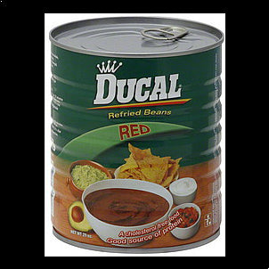 Ducal Refried Beans Red 29 OZ