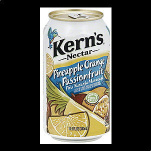 kern's Nectar Pineapple Orange Passionfruit, 11.5 oz 11.5 OZ