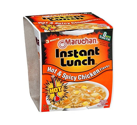 Maruchan, Hot & Spicy Chicken Soup, 2.25-Ounce (12 Pack) 12 PK