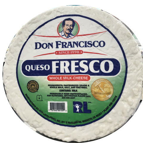 Don Francisco Queso Fresco LB