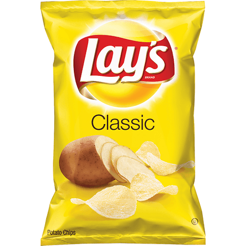 Lay's Classic Potato Chips 8 OZ