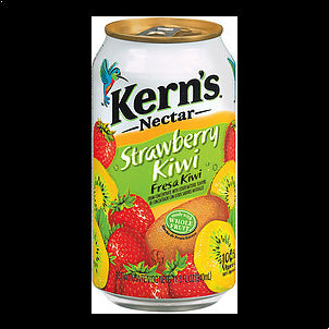 Kern's Nectar Strawberry Kiwi, 11.5 Fl Oz 11.5 OZ