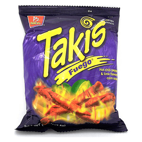 Takis Fuego Corn Rolled Snack 9.9 OZ