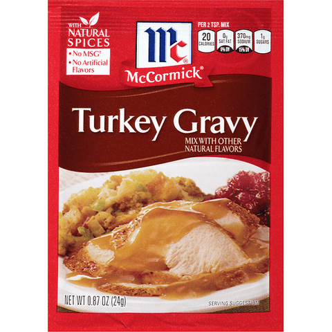 McCormick Turkey Gravy Mix 0.87 OZ