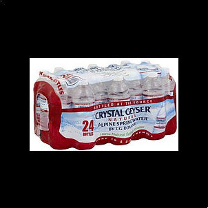 Crystal Geyser Water Natural Alpine Spring 24 PK
