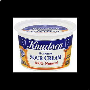 Knudsen Sour Cream Hampshire 16 OZ
