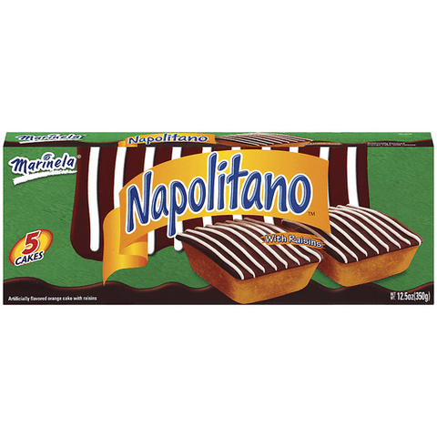 Marinela Cakes, Orange, Napolitano 5 CT