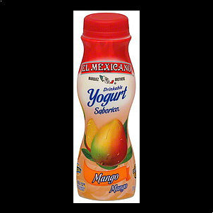 El Mexicano Drinkable Yogurt Mango 7 OZ
