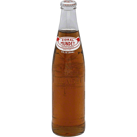 Sidral Mundet Soda, Apple 12 OZ