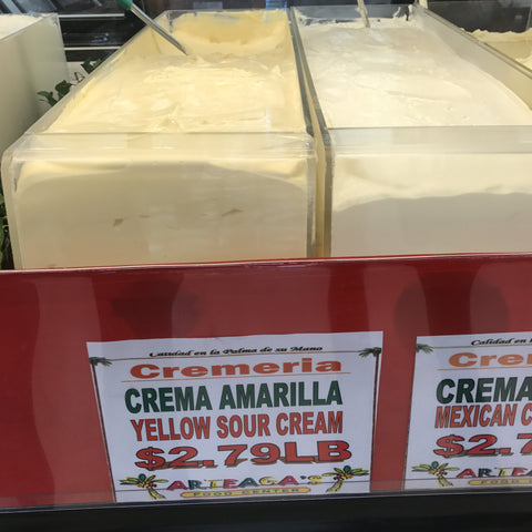 Yellow Sour Cream / Creama Amarilla LB