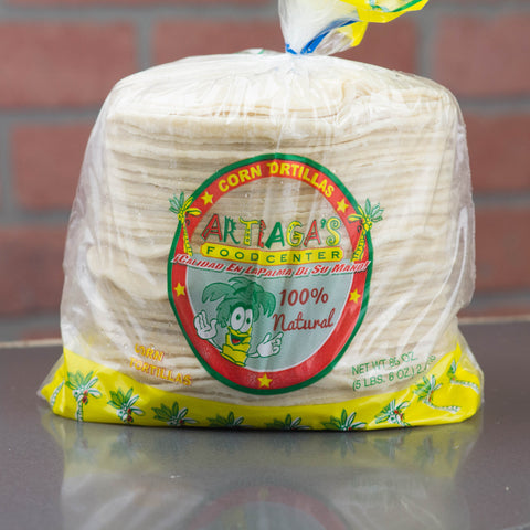 ARTEAGA'S TORTILLAS DE MAIZ / CORN TORTILLA 86 OZ