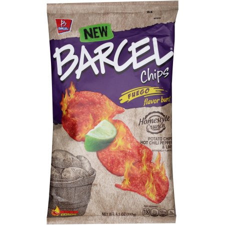 Barcel Chips By Toreadas Fuego 4.1 OZ