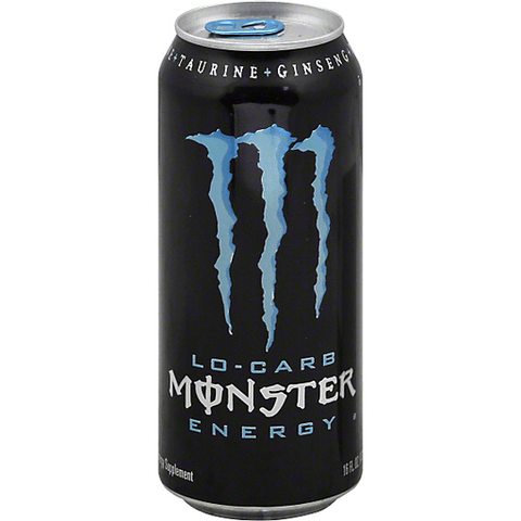 Monster Energy Drink, Lo-Carb 16 OZ