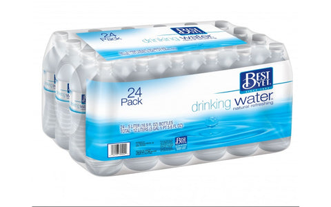 BEST YET DRINKING WATER Naturally Refreshing Spring Water 24 PACK