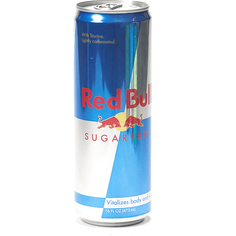 Red Bull Energy Drink, Sugar Free 16 OZ